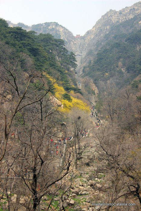 trekking al Tai'an Tai Shan China
