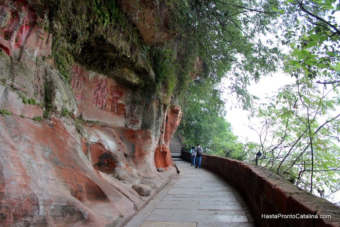 camino a Dafo Leshan China