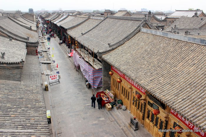 Pingyao China aerea