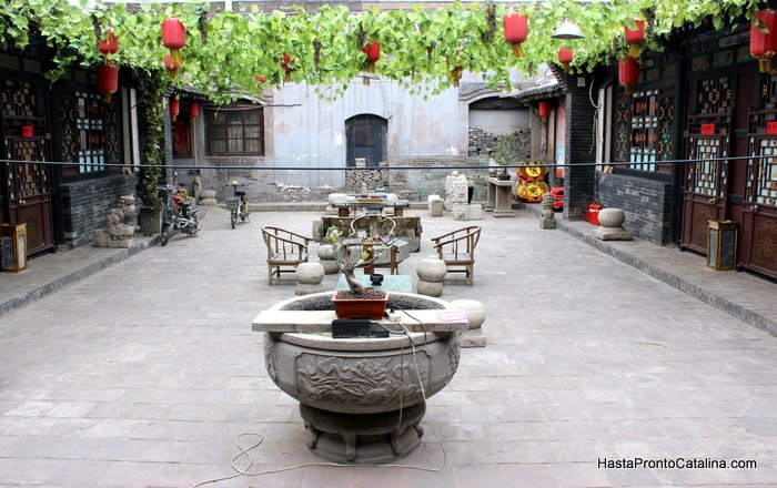 Pingyao China patio casa