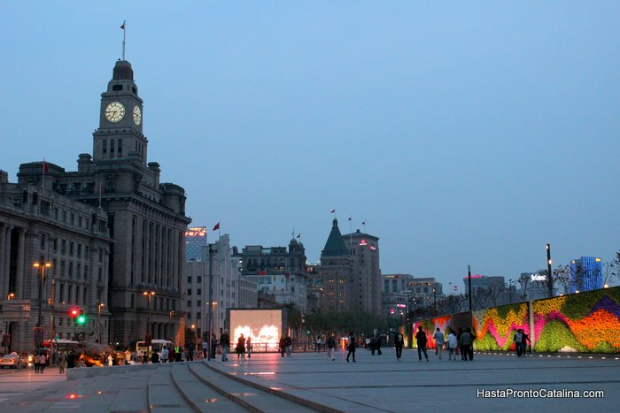 flores the bund Shanghai China