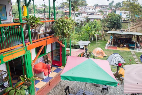 camping Salento COlombia